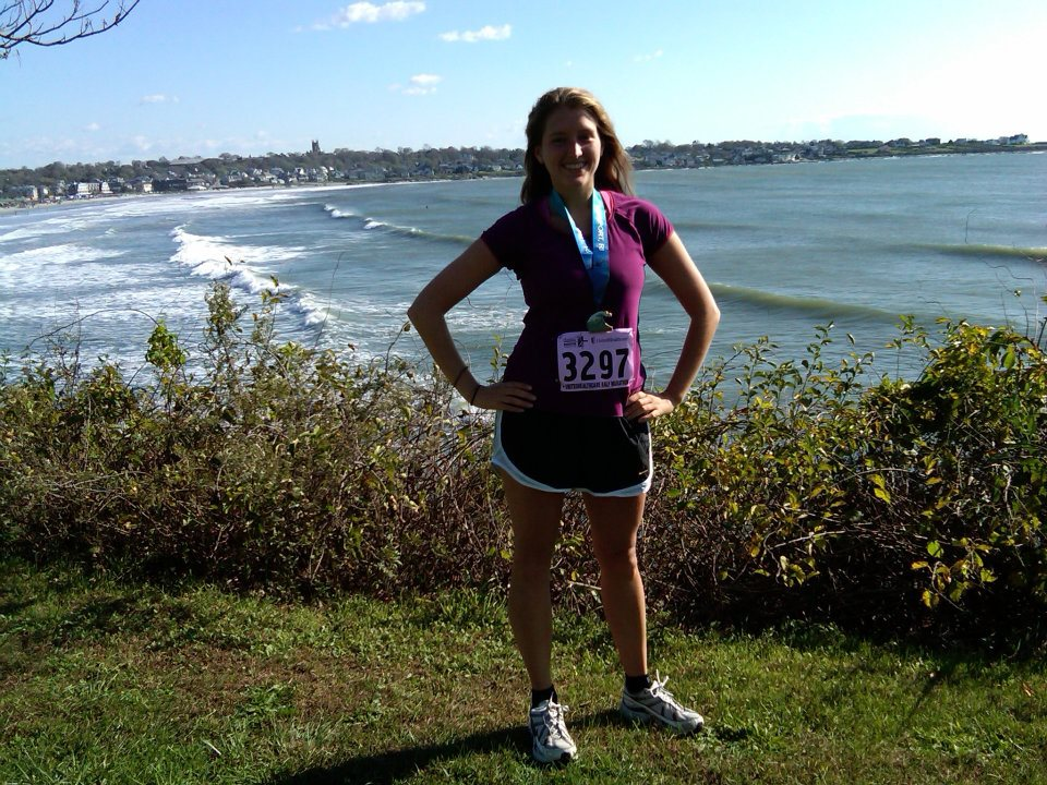 Theresa After Completing a Half Marathon