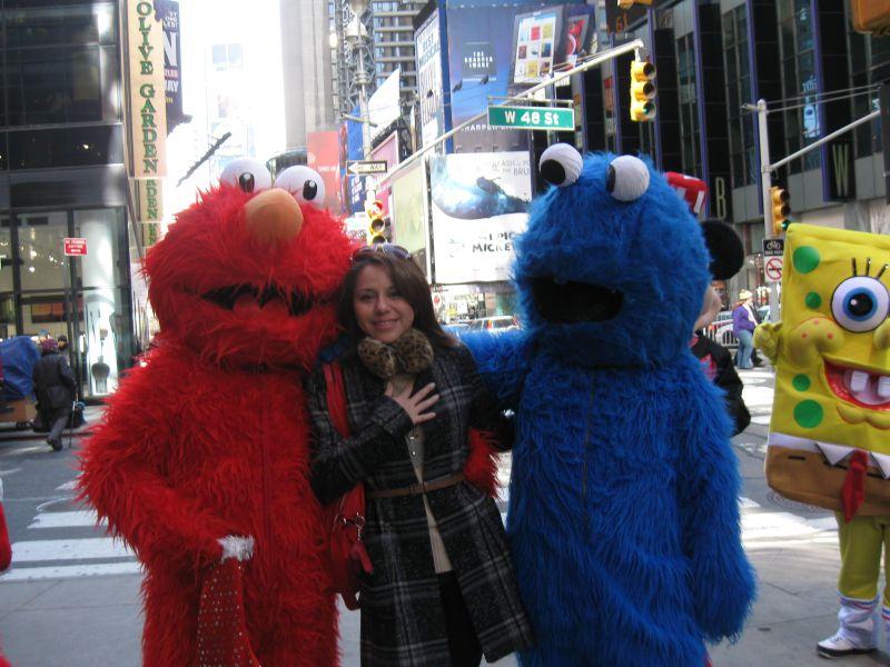 Having Fun in New York City