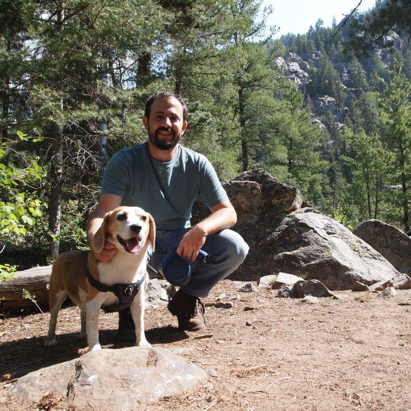 Colorado Hiking Road Trip With Karma, Our Beagle