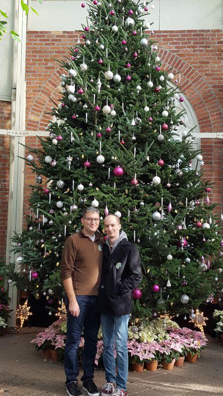 A Christmas Trip to the Botanical Garden