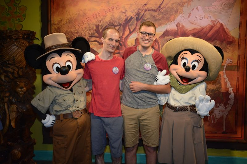 Meeting Ethan's Favorite Safari Guides on Vacation