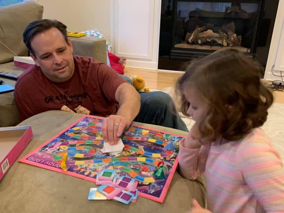 Playing Princess Candyland With a Friend's Daughter