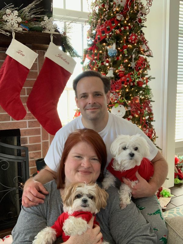 With Our Pups, Zelda & Zoe