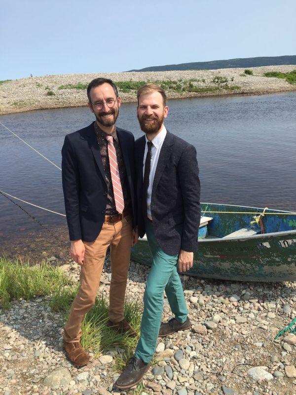 At a Wedding in Nova Scotia