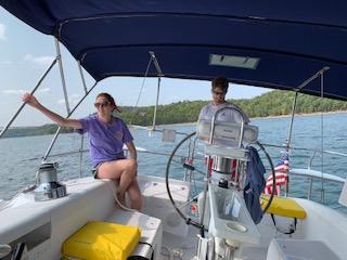 We Love Sailing Together