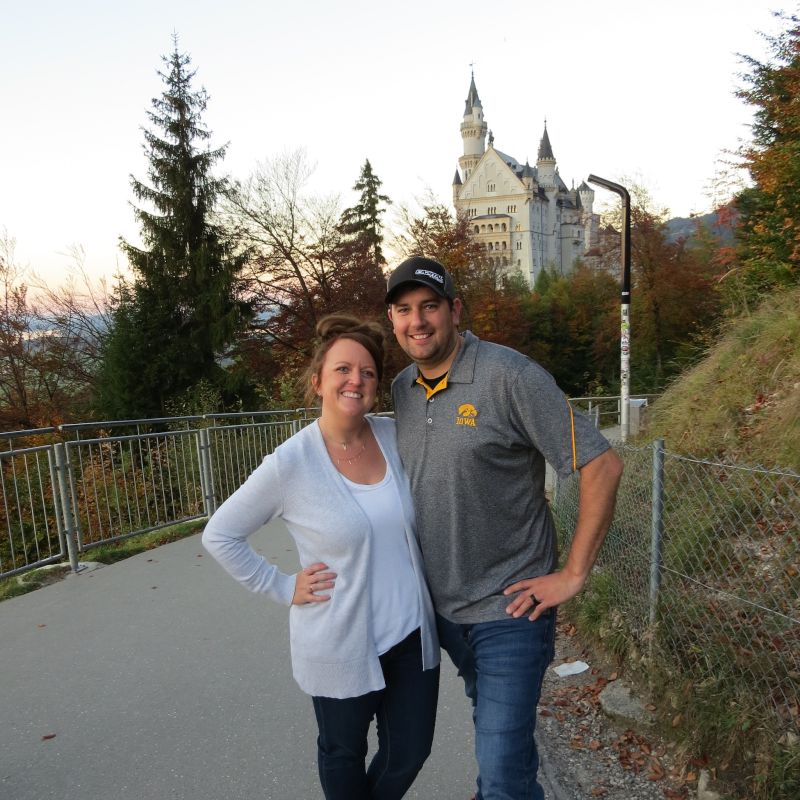 Checking Out a Castle in Germany