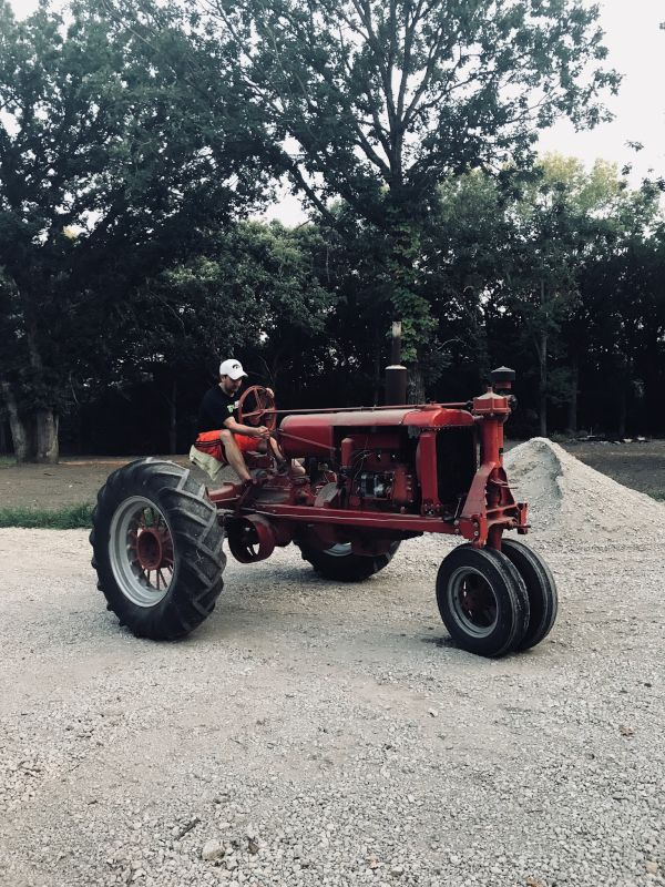 Restoring His Dad's Old Tractor