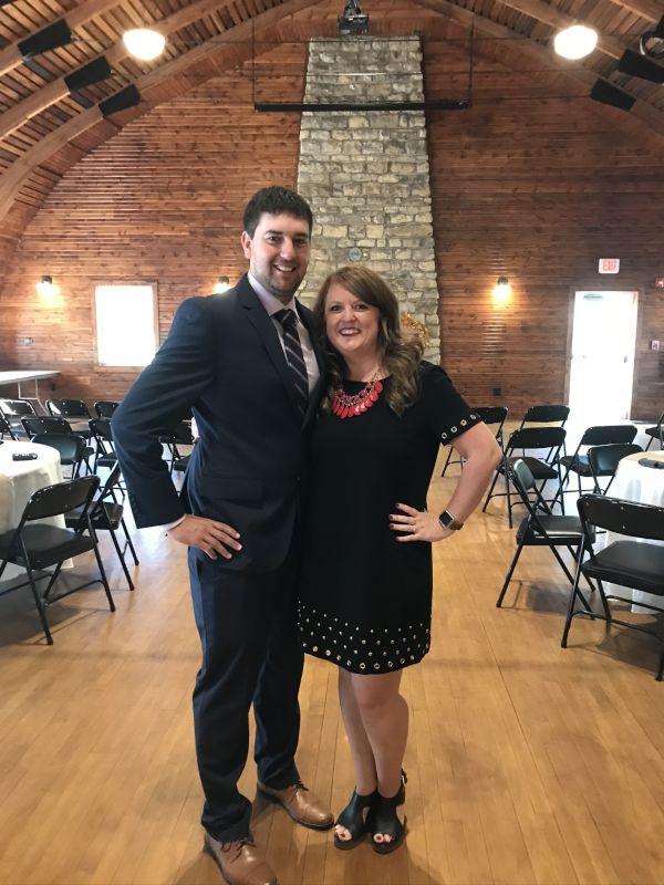 Enjoying a Family Wedding