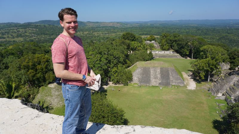 Exploring Mayan Ruins in Belize