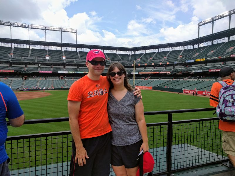 Camden Yards in Baltimore