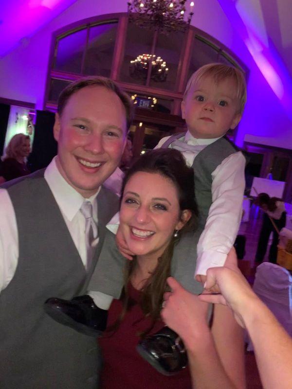 At a Wedding