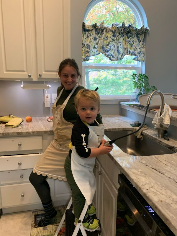 Cooking with Jess and Augie