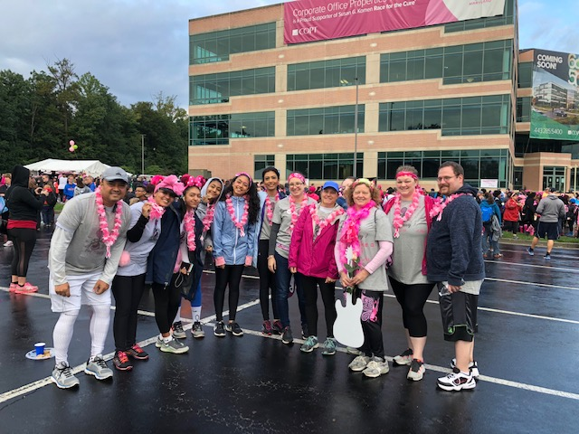Race for the Cure With Friends