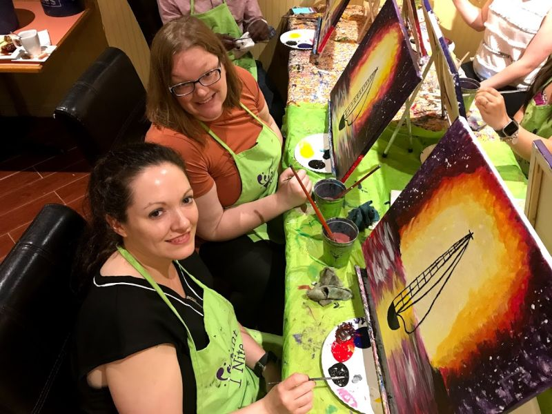 Paint Night With a Friend