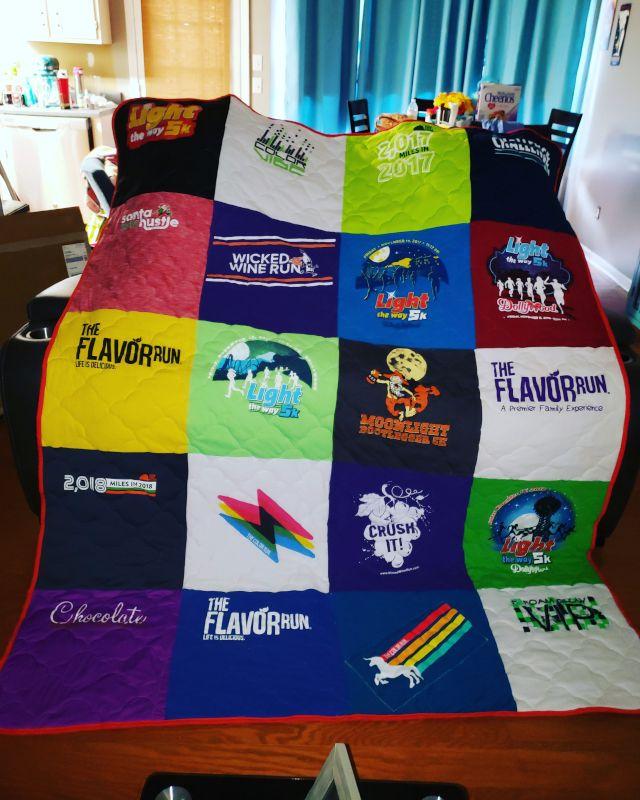 Stacie's T-Shirt Quilt