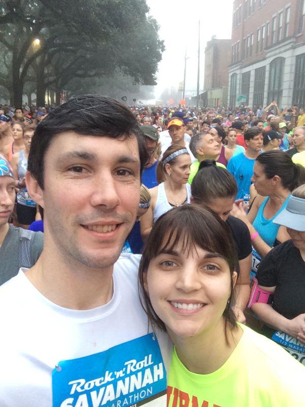 First Half Marathon for Jen