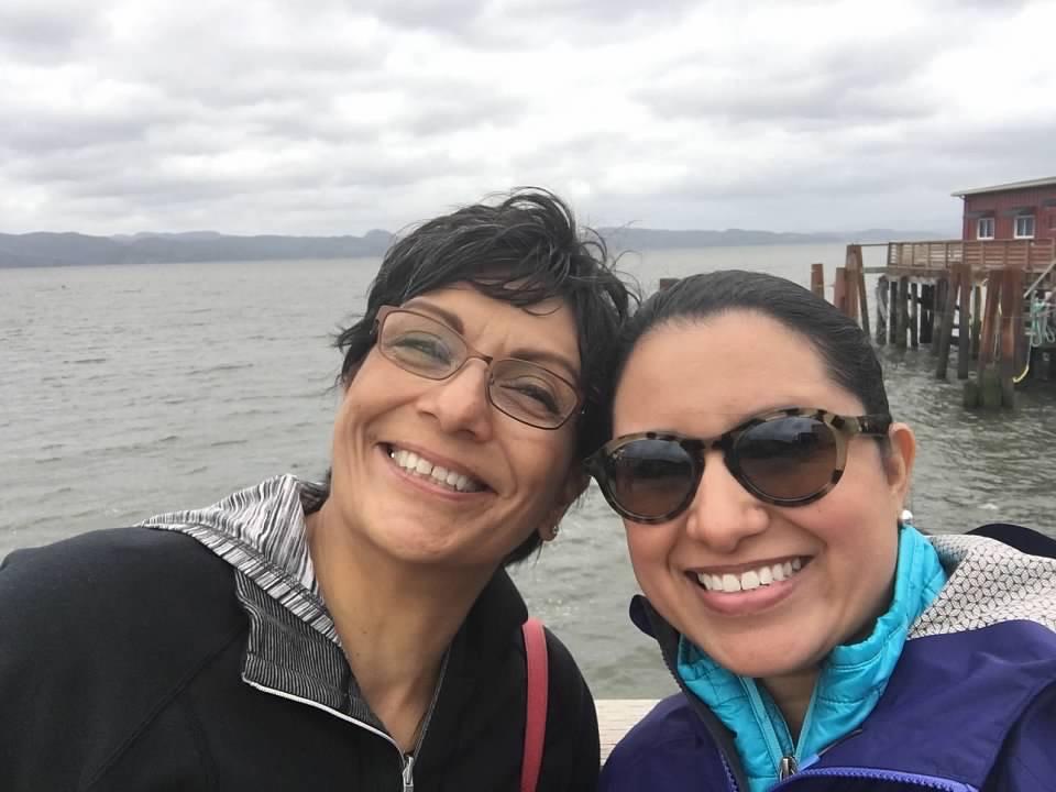 Elena & Her Mom in Portland