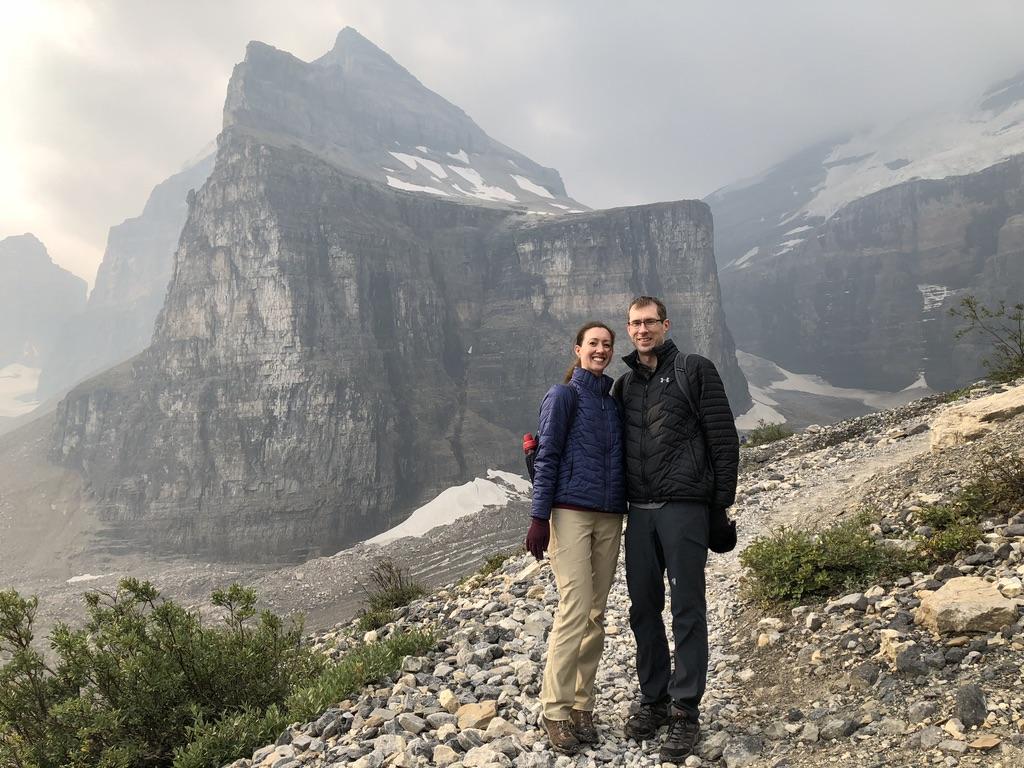 Hiking to a Glacier