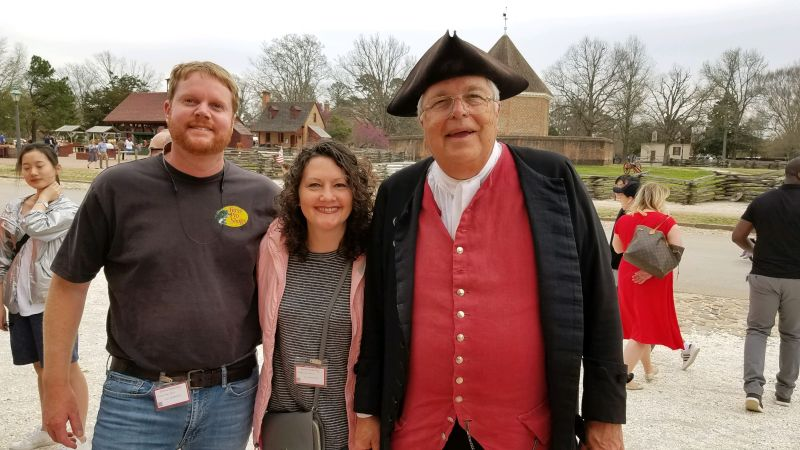 Making New Friends in Colonial Williamsburg
