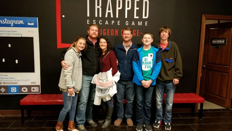 Escape Room with Family