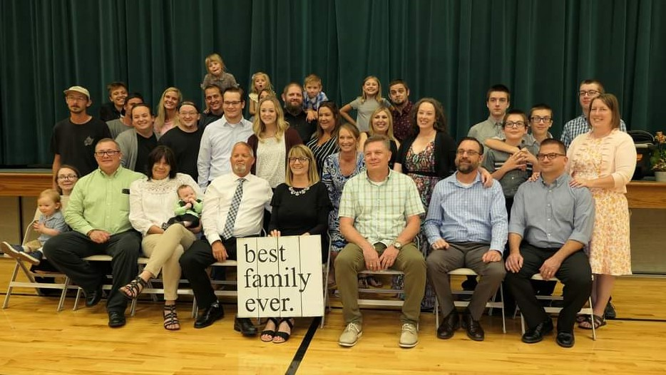 Not All, but a Good Representation of our Awesome Family!