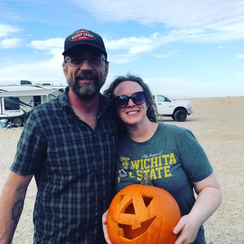 Halloween in the Desert