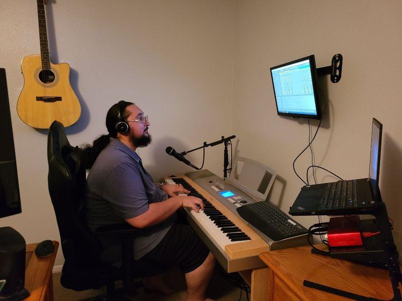Kasey Enjoys Writing & Recording Music