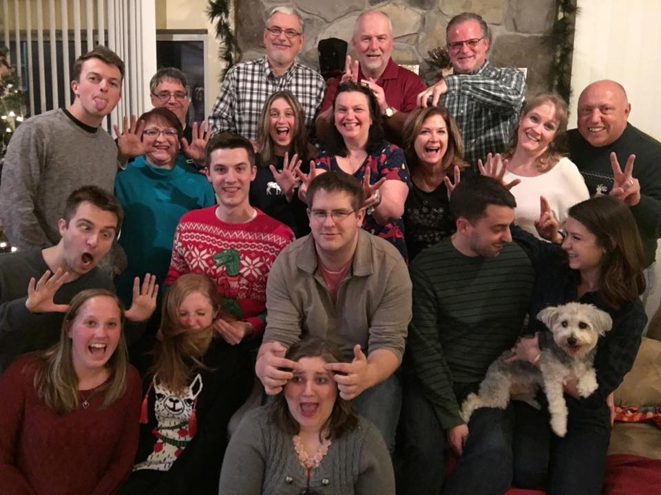 Acting Silly With Our Oldest Family Friends