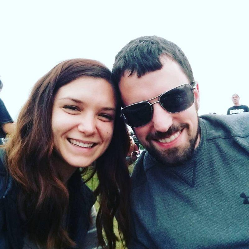 Enjoying a Fall Concert Together