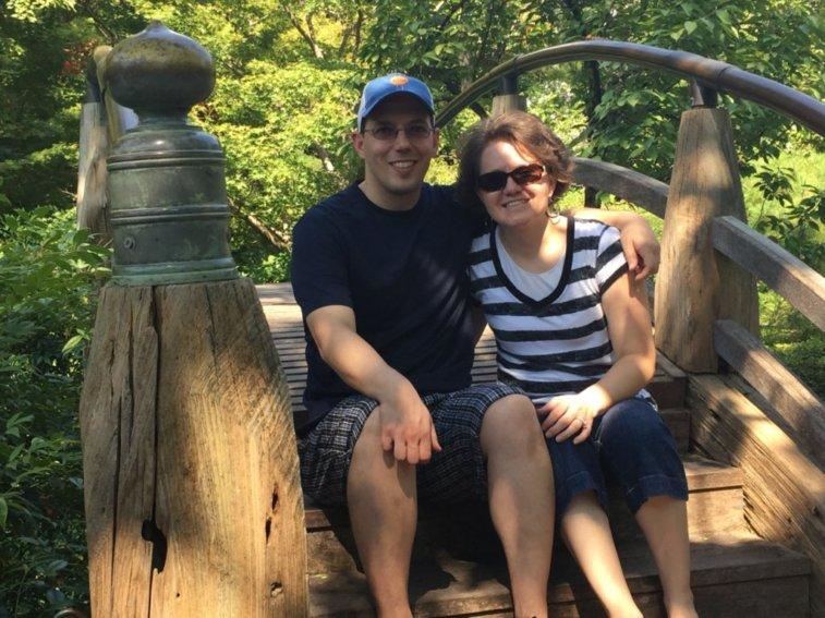 At Fort Worth Botanical Garden