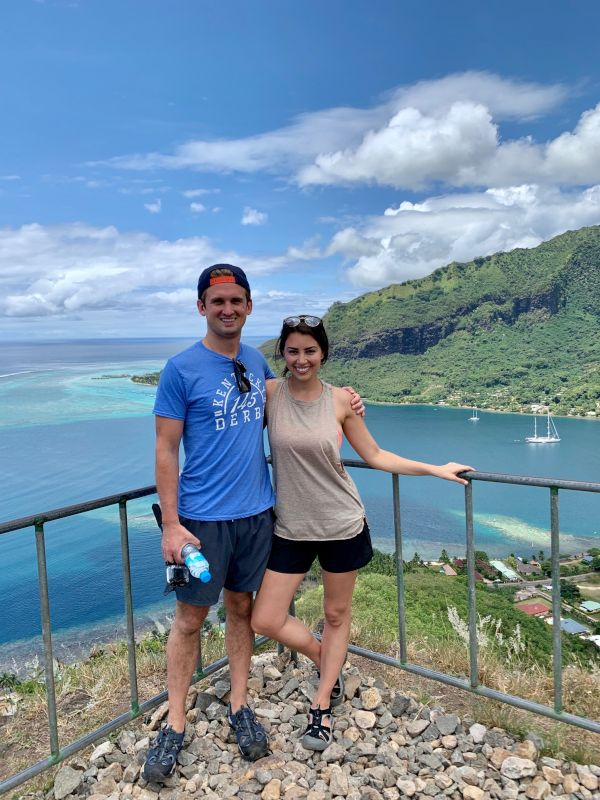 Hiking to the Top of Moorea Island