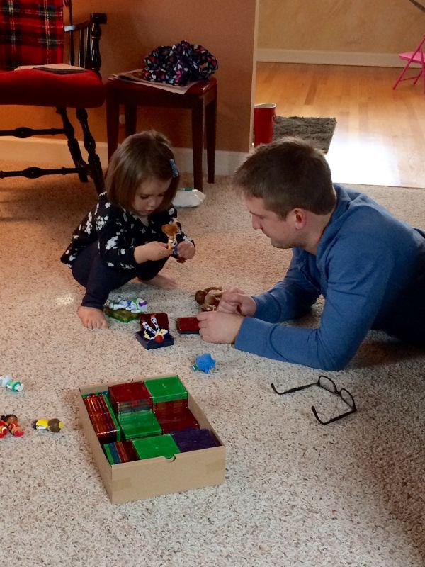 Playing Games with Our Niece!