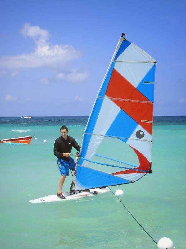 Brian Windsurfing