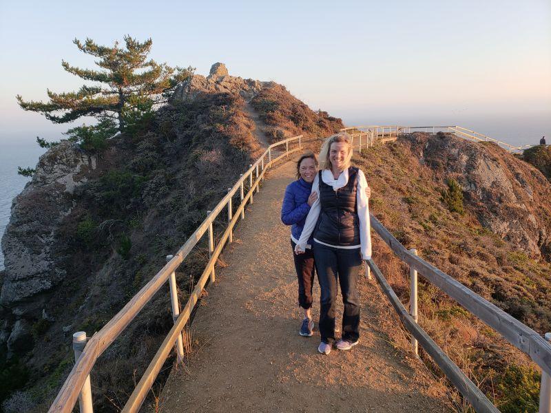 Christine & Her Mom in California