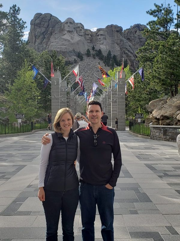 At Mount Rushmore
