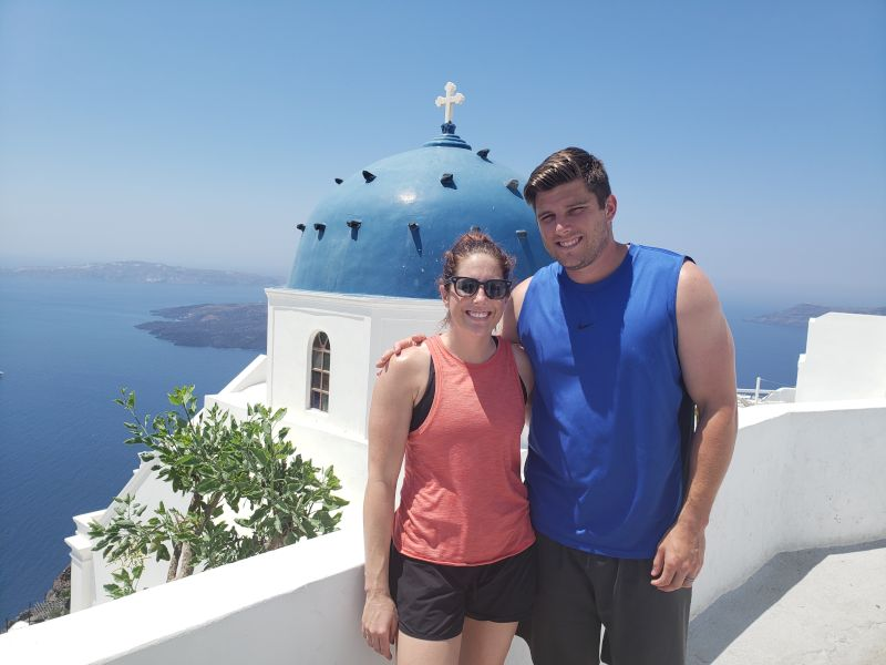 Sightseeing in Santorini