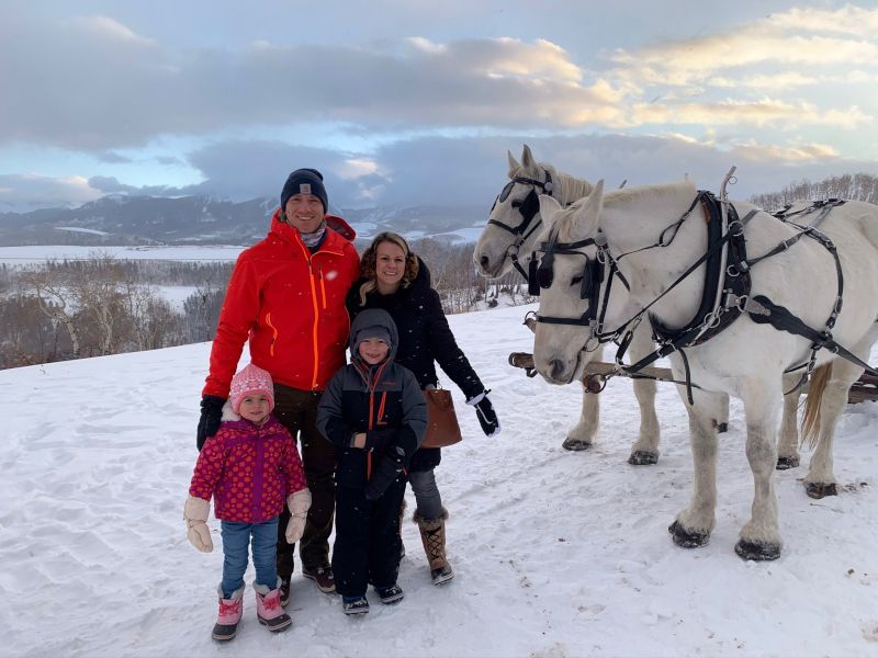 Family Carriage Ride