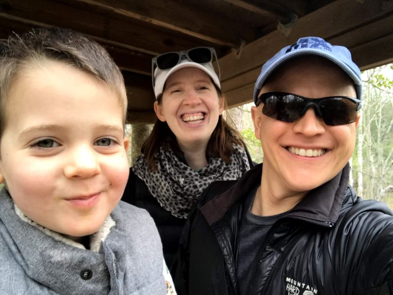 Family Hike at the Park