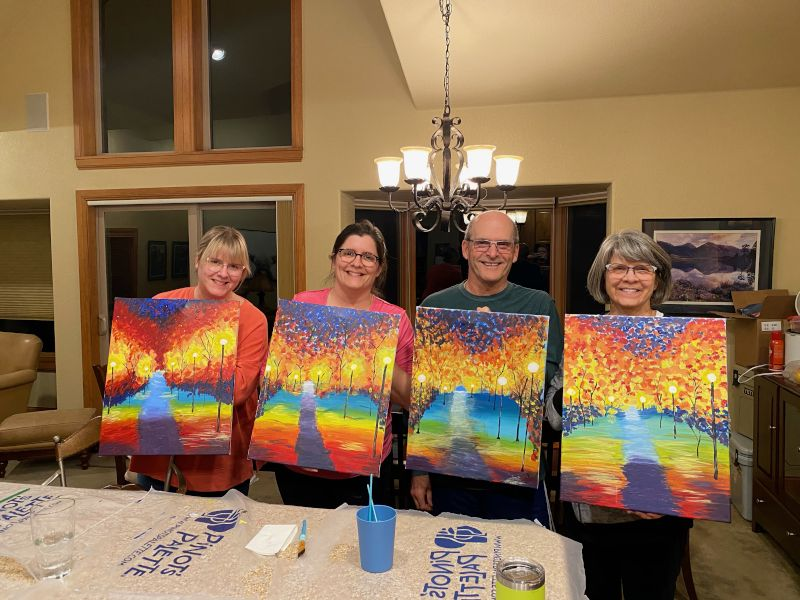 Painting With the Family