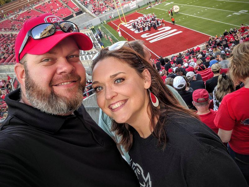 At a North Carolina State Football Game