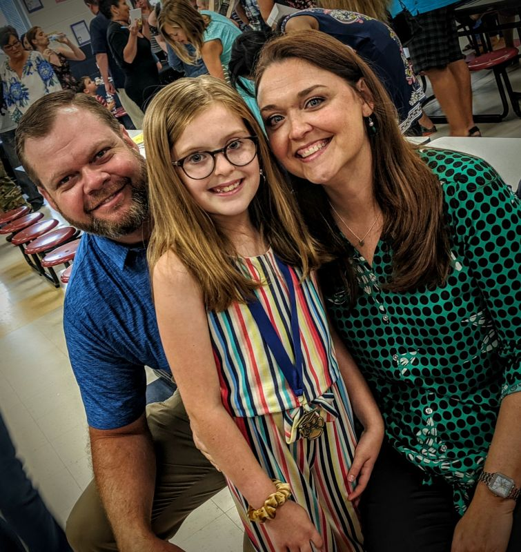 Cayleigh's Elementary School Graduation