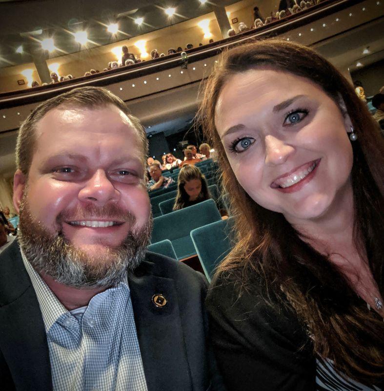 At Phantom of the Opera