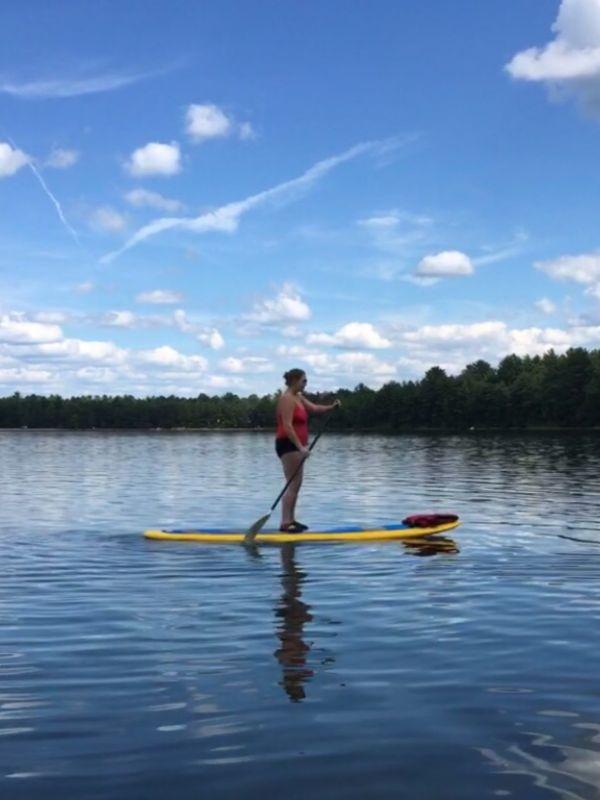 Amy Paddleboarding