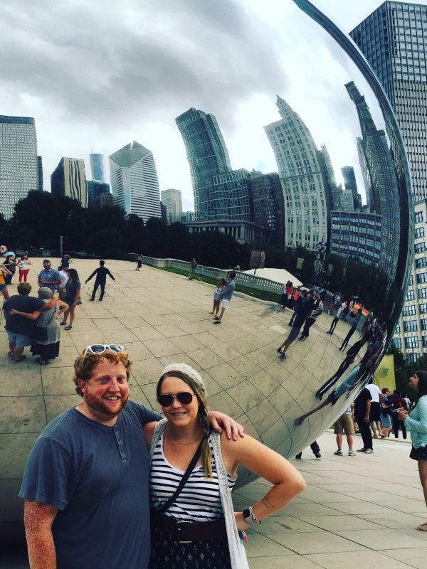 Visiting the Famous Bean in Chicago