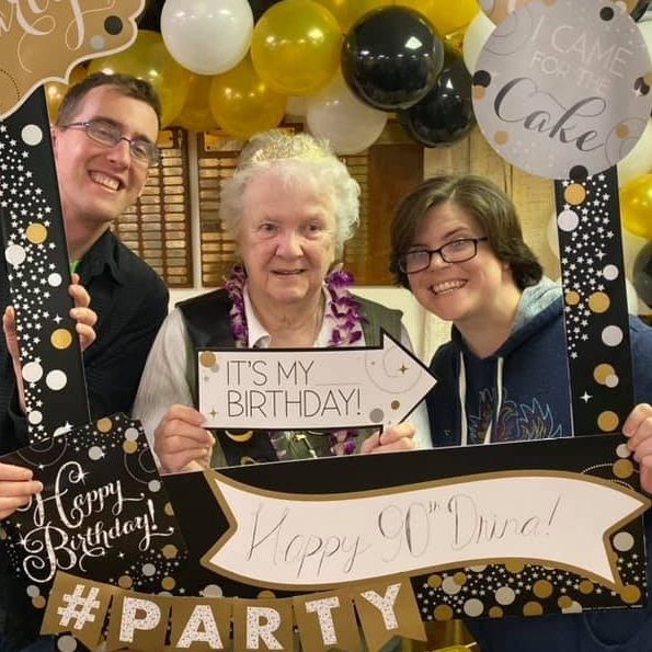 Family Is Important to Us, We Surprised Grandma for Her 90th Birthday With a Party