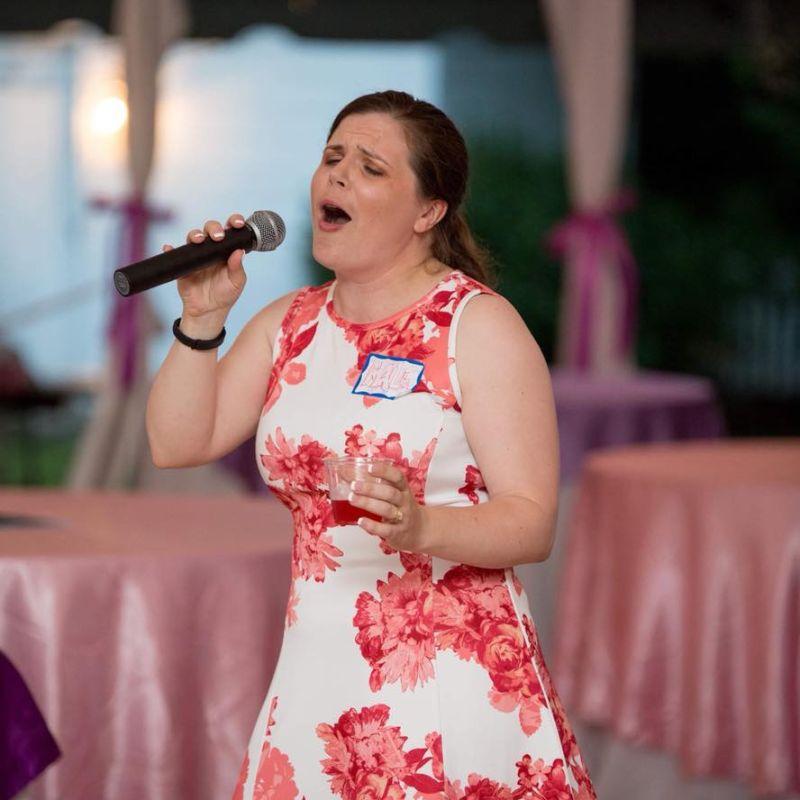 Maile Singing Karaoke