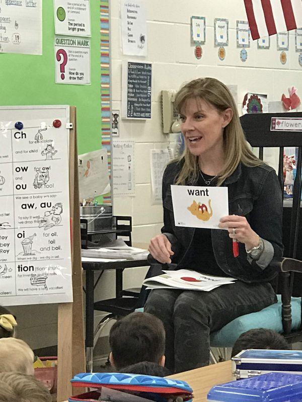 Volunteering at Hunter's School