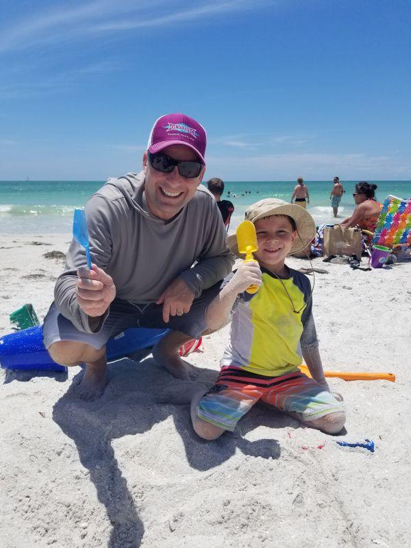 Sandcastle in Progress!