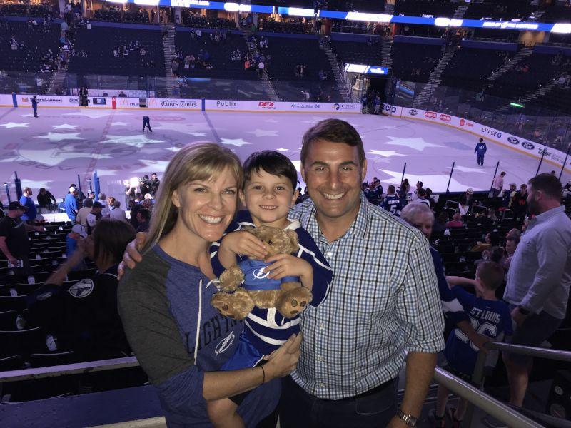 Family Hockey Night