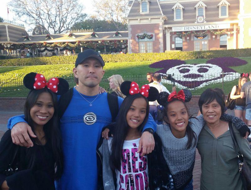 Family Trip to Disneyland
